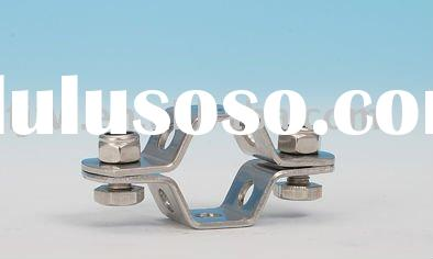 sanitary stainless steel hexagon tube hanger