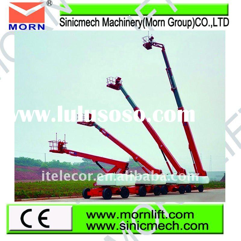 self-propelled telescopic beam steel lift
