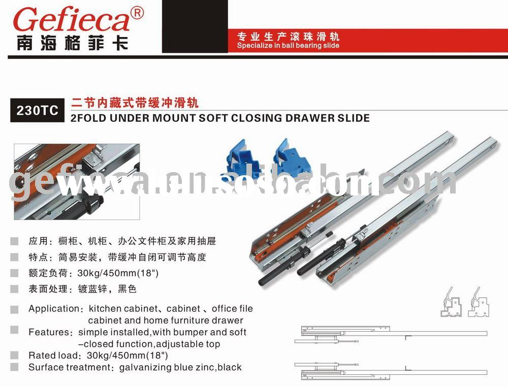 soft close drawer slide
