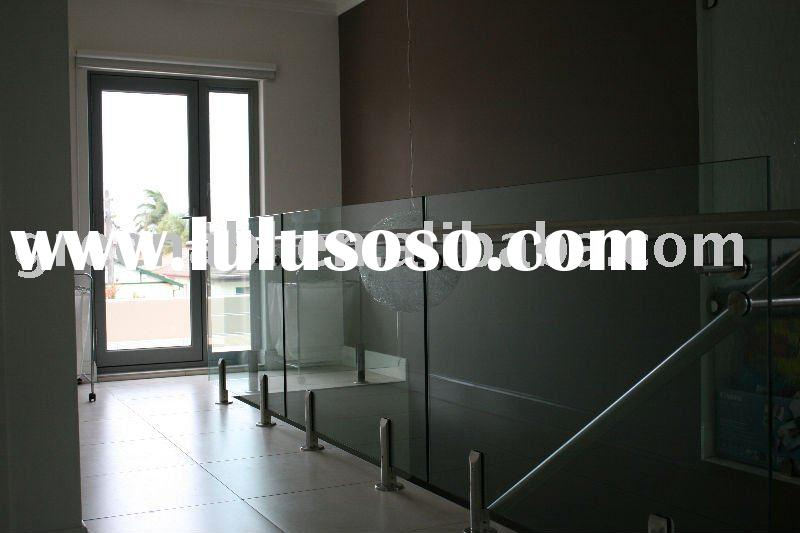 stainless steel glass balcony balustrade