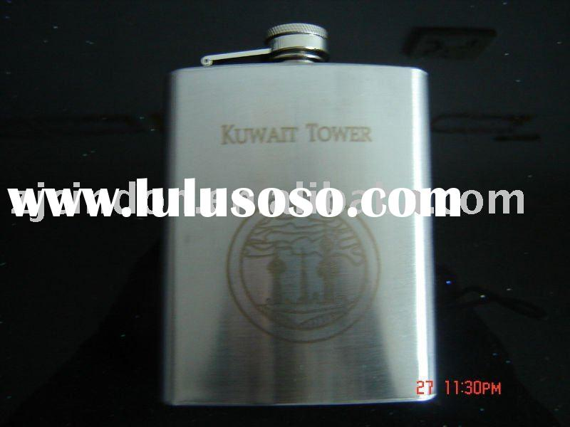 stainless steel tiger thermos flask with sand&mirror finish