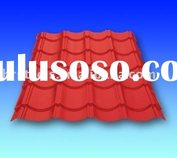 steel tile corrugated steel sheet corrugated roofing sheet