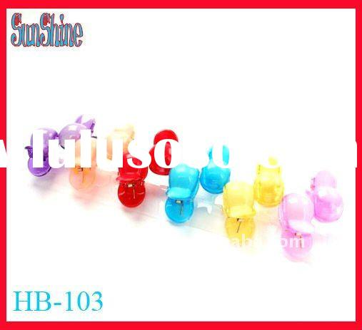 stock/multi color hair clip grip/kids hair accessories(HB-103)