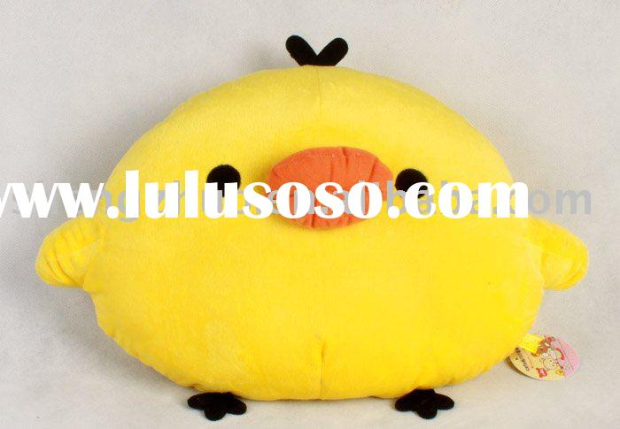 stuffed plush children's animal pillow toy chicken cushion