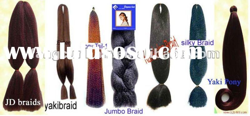 synthetic hair extensions/fashion hair