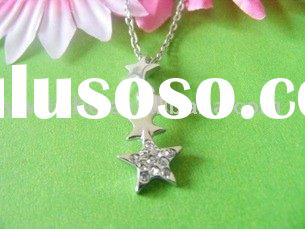 tetrad star pendants/necklace/fashion jewelry/costume jewelry
