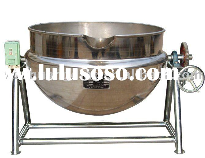 tilting electric heating Jacketed Kettle / boiler
