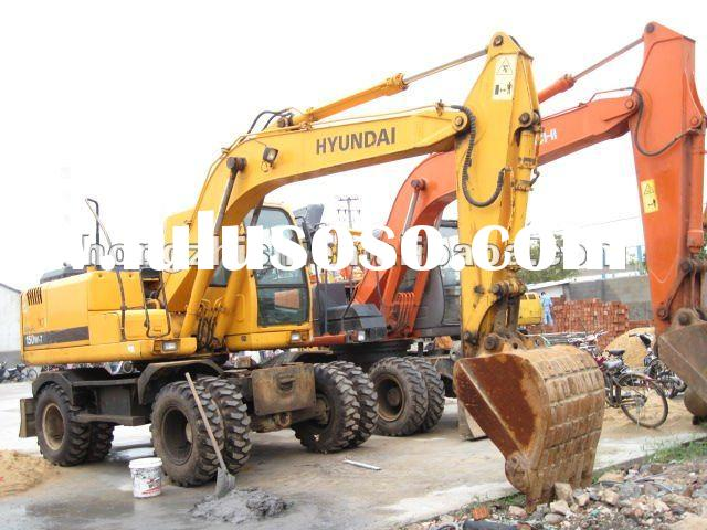 used Hyundai excavator Hyundai 150W-7 Made in China For sale