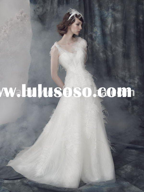 vintage wedding dresses 2011 Newest style Designer wedding dress--LB3396