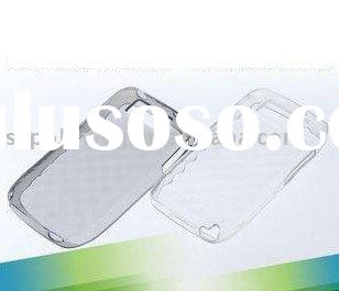 white brand new mobile phone accessory for nokia E63 crastal clean cover case