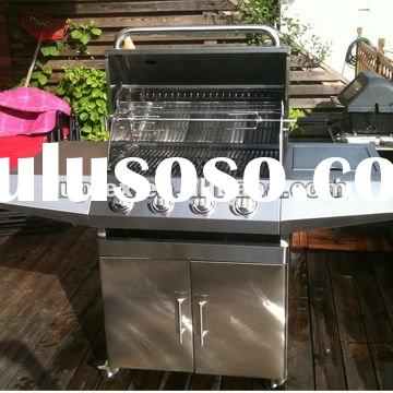 wholesale 4 burner 67000 BTU stainless steel gas barbecue grill