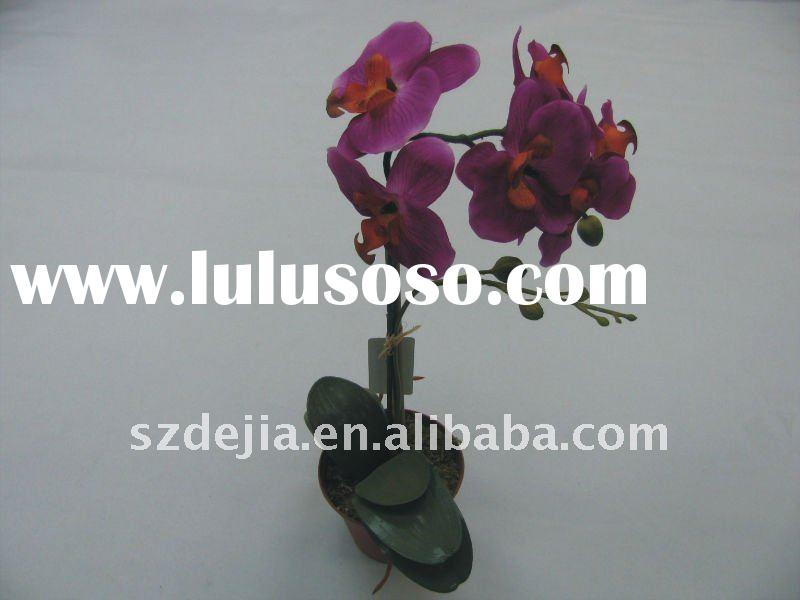 wholesale artificial orchid flowers /fake flower/plastic orchid flowers