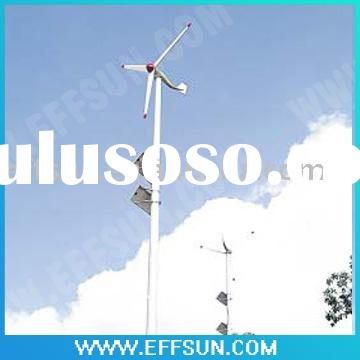 wind solar energy for street light