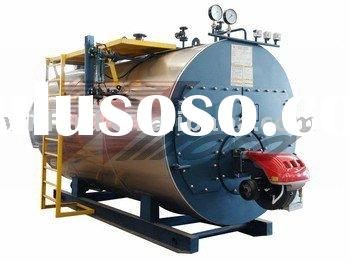 wns horizontal oil&gas steam boiler