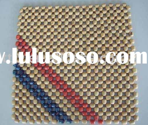 wooden bead auto seat cushion cover,bead mat
