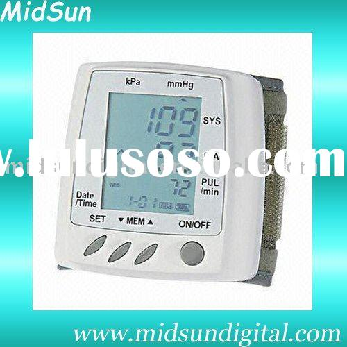 wrist digital blood pressure monitor hot selling