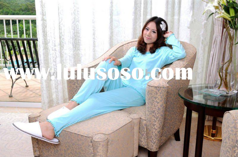 100% Cotton/ 100% Organic Cotton/Solid Women's Pajamas /Fashionable/Comfortable