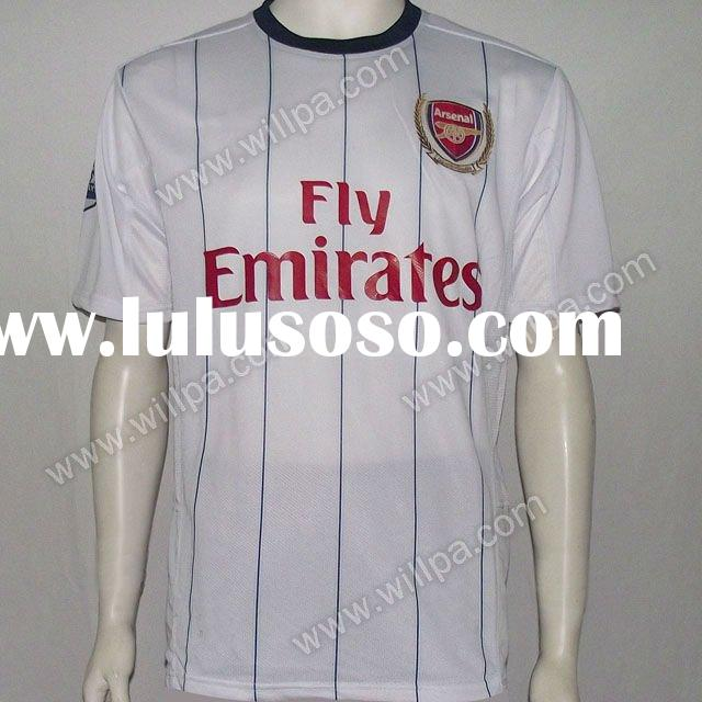 11/12 Arsenal Away white soccer jersey, soccer shirt, football shirt