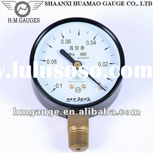 1.5inches vacuum pump pressure gauge