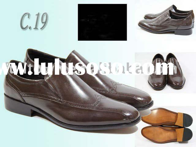 2010 NEW ARRIVALS! Men's leather shoes,famous brand leather shoes