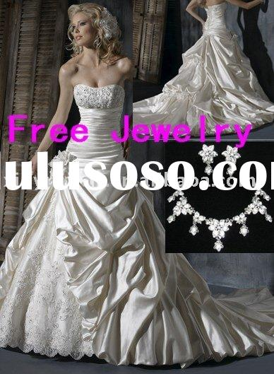 2011 new designer boutique couture elegant wedding gowns MA-472