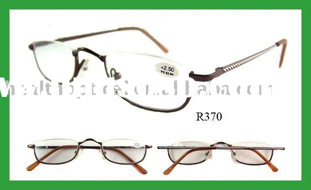 2012 fashion metal half-frame reading glasses (R370)
