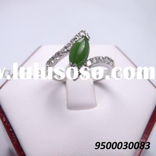 925 silver ring gemstone jewelry wholesale
