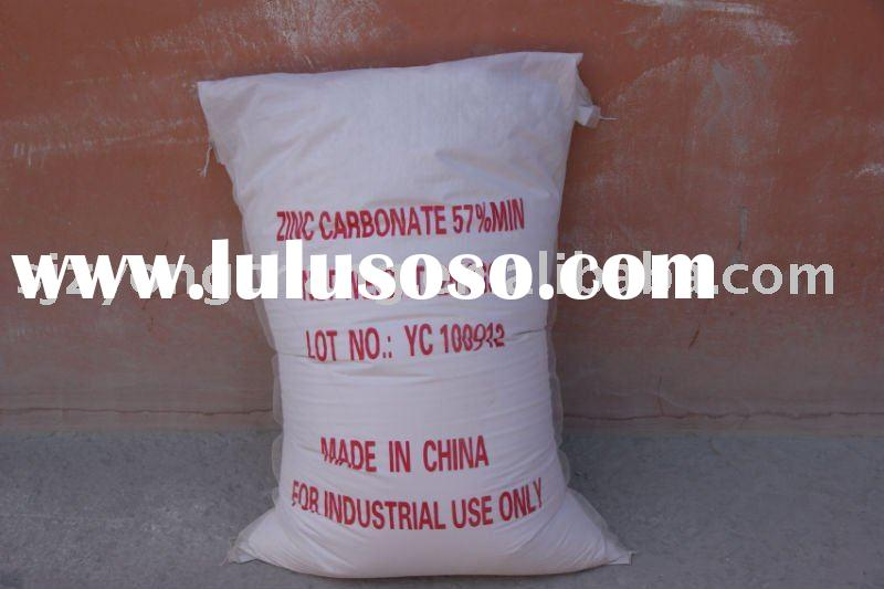 Basic zinc carbonate 57% manufacturer