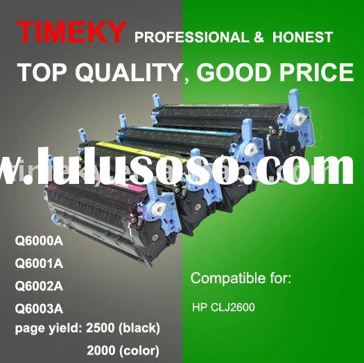 Color Toner cartridge Q6000A,Q6001A,Q6002A,Q6003A
