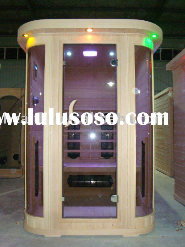 Far infrared Sauna with Pure Ceramic Heaters (2 person)