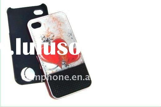 Fashion LED flash Silicone Mobile Phone Cases for iphone 4/4s