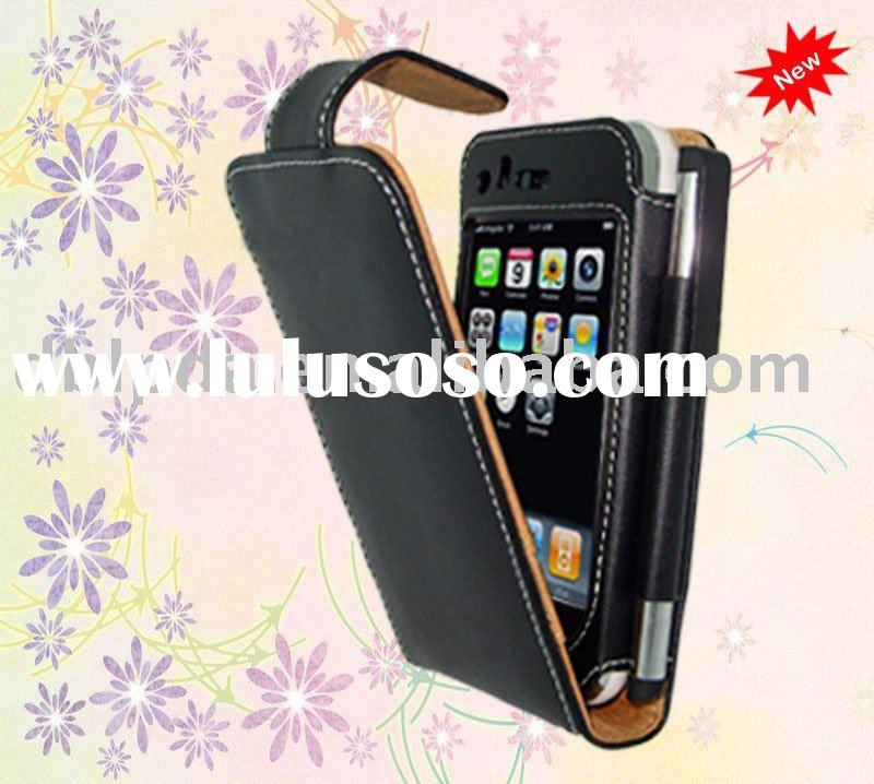 For mobile phone case,hot genuine leather case for 4 S