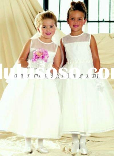 Formal Fairy Organza Flower Girl Dress 7296