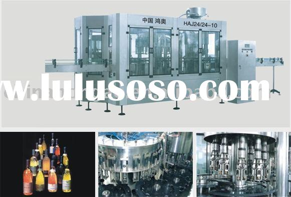 Glass Bottle Wine Processing Plant