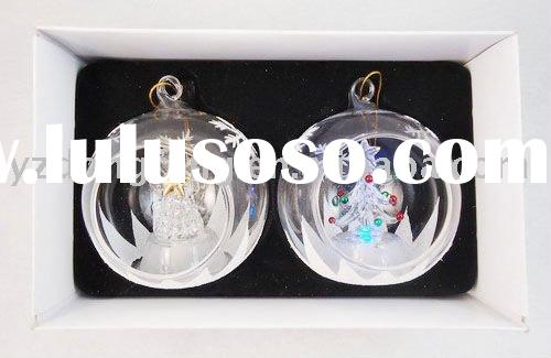 Glass christmas tree ball christmas ball decoration