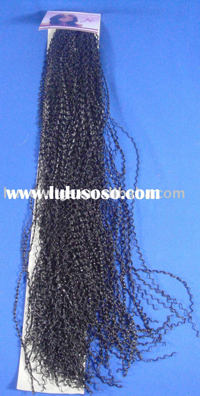 HEY-0013,hair extension/hair piece/human hair weft/jumbo braid weave/remy human hair
