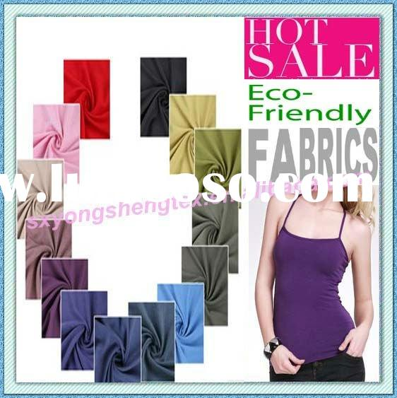Hot Sale Eco-Friendly Organic Cotton Fabric Modal Fabric Bamboo Fabric