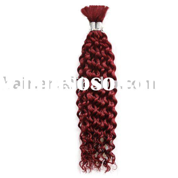 Human Hair Bulk 100% Human Hair Super Bulk Hair weave Hair weaving