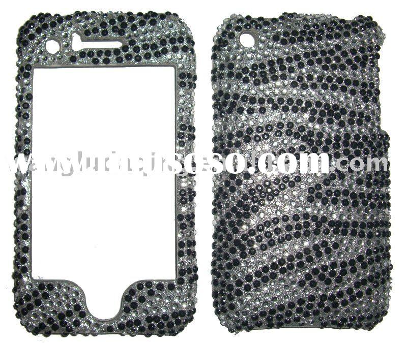 Mobile Phone Case: Diamond crystal Case(for HTC HD 2)