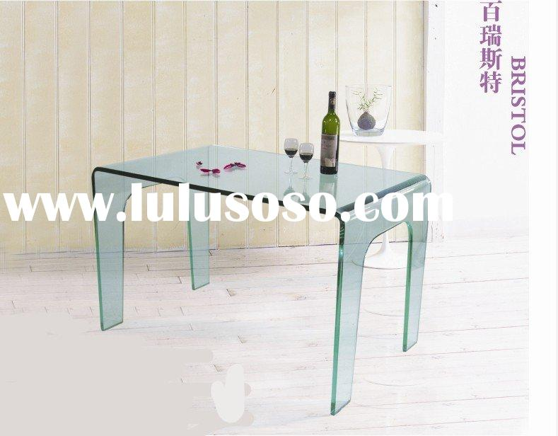 Modern Glass Dining Table,Dining room furniture