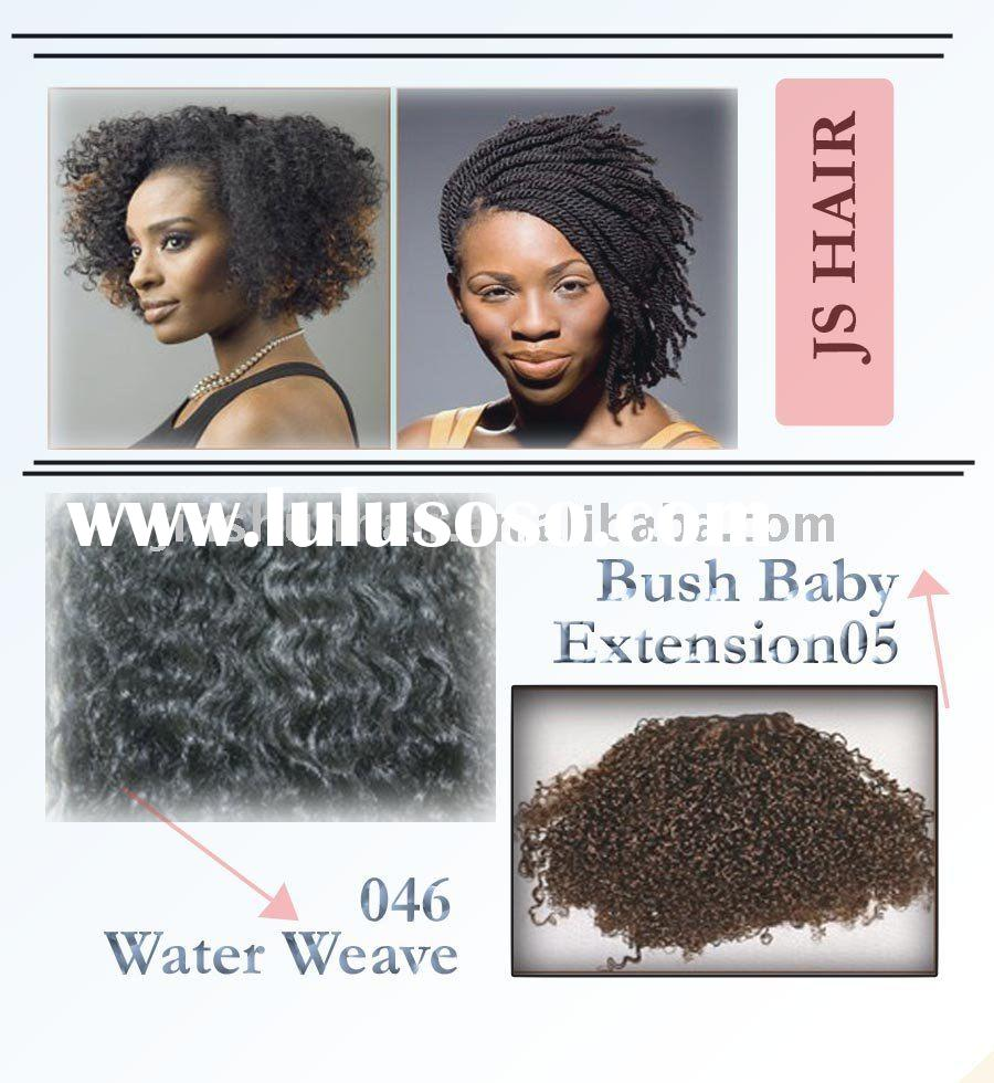 New Water Weave - BUSH BABY EXTENSIONS 1# IN STOCK - 16 INCH HUMAN HAIR LOCK EXTENSIONS IN STOCK