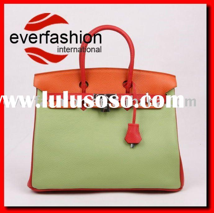New arrival fashion leather handbags designer brand bags