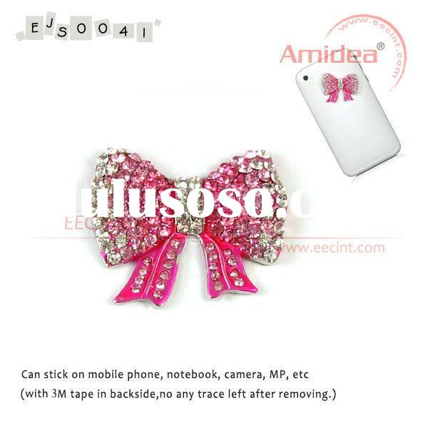 Newest Lovely mobile phone novelty, mobile phone sticker, mobile phone decoration, jewelry sticker E