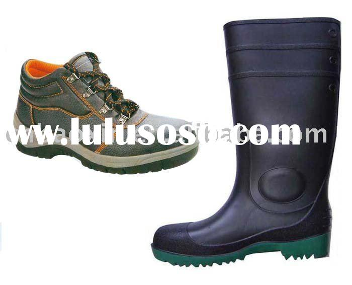 PVC boot and Safety boot