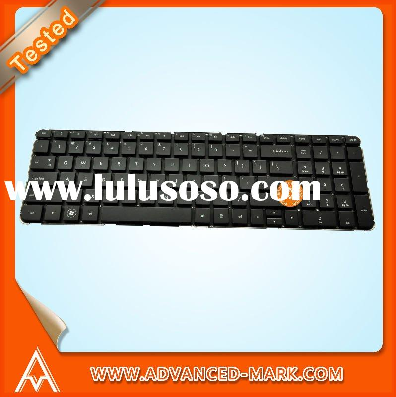 Replace Laptop Keyboard for HP Pavilion DV7-4000 , 9Z.N4DUQ.201 AELX7U00210 , US Layout , Black Colo