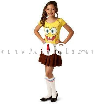 Spongebob Girl Toddler/Children's Costumes 0772