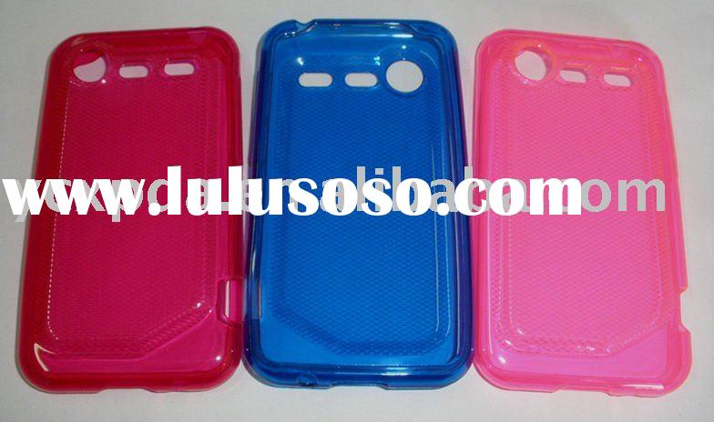 TPU case for HTC Incredible S(s710e),many colors available