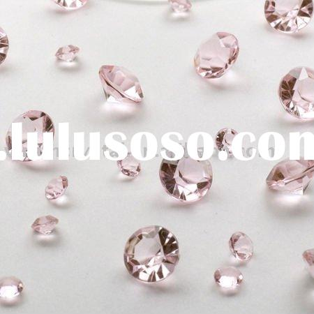Table Sparkling Diamond Table Scatters Wedding Decoration