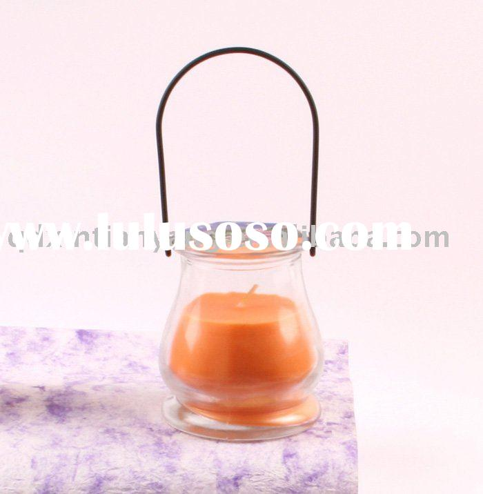 XTY-CH-022 home decoration hanging glass votive candle holders