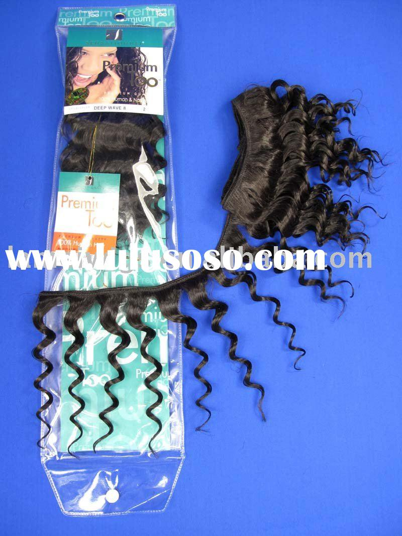 .synthetic hair weaving/hair extension/hair piece/human hair weft/jumbo braid weave/remy human hair/